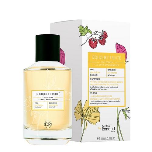 Eau rayonnante parfum bouquet fruite docteur renaud jardin beaute